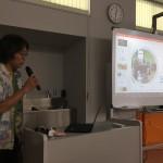 2日目大阪の支援者杉本さんから筋電車椅子やスイッチの紹介