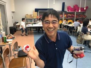 2日目大阪の支援者樋口さんからのキティちゃんスイッチとラッチ&タイマー紹介