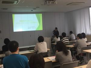 日本ALS協会福島県支部長谷川智美さんによる事例報告