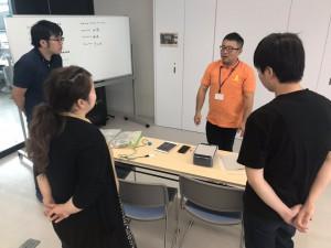 グループワーク「iPad」